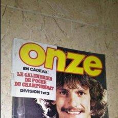 Coleccionismo deportivo: ONZE N° 68. AÑO 1981 REVISTA FÚTBOL. Lote 138302606