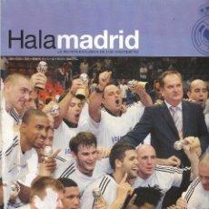 Coleccionismo deportivo: REVISTA HALA MADRID Nº 15 JUNIO AGOSTO 2005 REAL MADRID CAMPEONES BALONCESTO. Lote 138313274