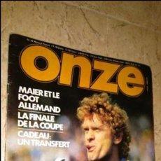 Coleccionismo deportivo: ONZE N° 43, REVISTA FÚTBOL, AÑO 1979. Lote 138310818