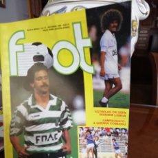 Coleccionismo deportivo: REVISTA FOOT PORTUGAL. 1988. Lote 138561438