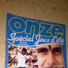 Coleccionismo deportivo: ONZE N° 67. AÑO 1981. REVISTA FÚTBOL. VER FOTOS MUCHOS PAÍSES. Lote 138821526