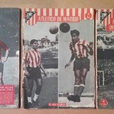 Coleccionismo deportivo: ATLÉTICO DE MADRID FÚTBOL LOTE 3 REVISTA METROPOLITANO 1961. Lote 138850918
