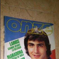 Coleccionismo deportivo: ONZE N° 64. AÑO 1981. REVISTA FÚTBOL, LARIOS . MARADONA. SOCHAUX. CRUIJFF. Y MUCHOS MÁS. Lote 138891486