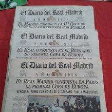 Coleccionismo deportivo: REAL MADRID - LAS 5 COPAS EUROPA 1956- 1960- DIARIO OFICIAL. Lote 139114310