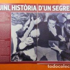 Coleccionismo deportivo: ARTICULO 2010 - QUINI F. C. BARCELONA HISTORIA DE UN SECUESTRO NUÑEZ - 6 PAGINAS. Lote 139531054