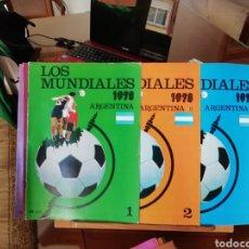 Coleccionismo deportivo: LOS MUNDIALES POR FASCICULOS. ARGENTINA 78... 3 FASCICULOS. Lote 139591213