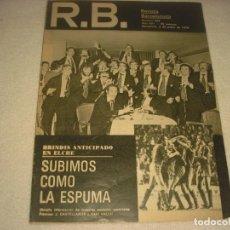 Coleccionismo deportivo: RB. REVISTA BARCELONISTA. Nº 666. ENERO 1978. BRINDIS ANTICIPADO EN ELCHE.. Lote 139688918