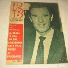 Coleccionismo deportivo: RB. REVISTA BARCELONISTA. Nº 261. MARZO 1970. BUCKINGHAM-GRANADA 0-0. MENDOÇA SE RETIRA. Lote 139690958