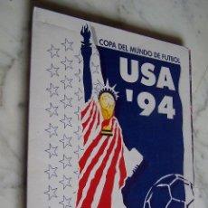 Coleccionismo deportivo: COPA DEL MUNDO DE FÚTBOL USA '94. DIARIO DE CÁDIZ. NUEVE FASCÍCULOS EN CARPETA.. Lote 139692362