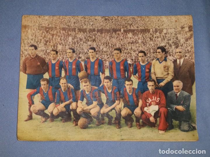 REVISTA ORIGINAL FC BARCELONA AÑO 1953 LADISLAO KUBALA EN BUEN ESTADO VER FOTOS Y DESCRIPCION (Coleccionismo Deportivo - Revistas y Periódicos - otros Fútbol)