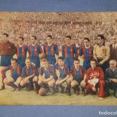 Collezionismo sportivo: REVISTA ORIGINAL FC BARCELONA AÑO 1953 LADISLAO KUBALA EN BUEN ESTADO VER FOTOS Y DESCRIPCION. Lote 139738030