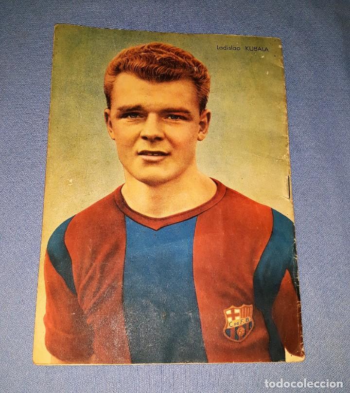 Coleccionismo deportivo: REVISTA ORIGINAL FC BARCELONA AÑO 1953 LADISLAO KUBALA EN BUEN ESTADO VER FOTOS Y DESCRIPCION - Foto 2 - 139738030