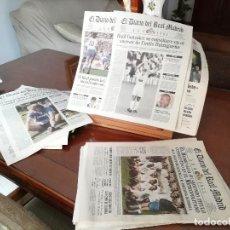 Coleccionismo deportivo: REAL MADRID - 10 PERIODICOS HISTORICOS SEGUIDOS ( 1910 - 1920). Lote 140097434