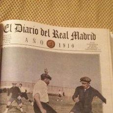 Coleccionismo deportivo: REAL MADRID - 10 PERIODICOS HISTORICOS SEGUIDOS ( 1990 - 2000). Lote 140116138
