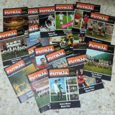 Coleccionismo deportivo: ENCICLOPEDIA DEL FUTBOL - RAMON MELCÓN - MIGUEL VIDAL - LOTE DE 22 REVISTAS. Lote 140171914