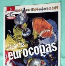 Coleccionismo deportivo: LLEGAN LAS EUROCOPAS - INTERVIU - COLECCION EQUIPOS DE LEYENDA DEL FUTBOL EUROPEO - COMPLETA. Lote 140172854