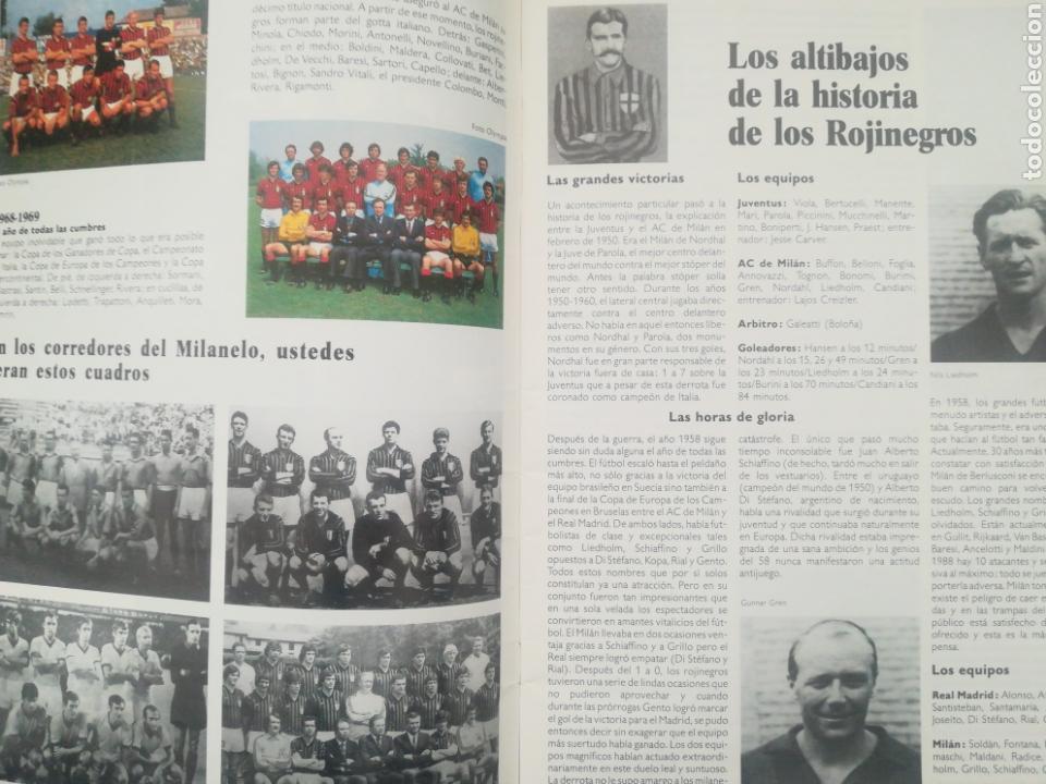 Coleccionismo deportivo: REVISTA LOS GRANDES CLUBES EUROPEOS N°2 1989 - Foto 4 - 63507488