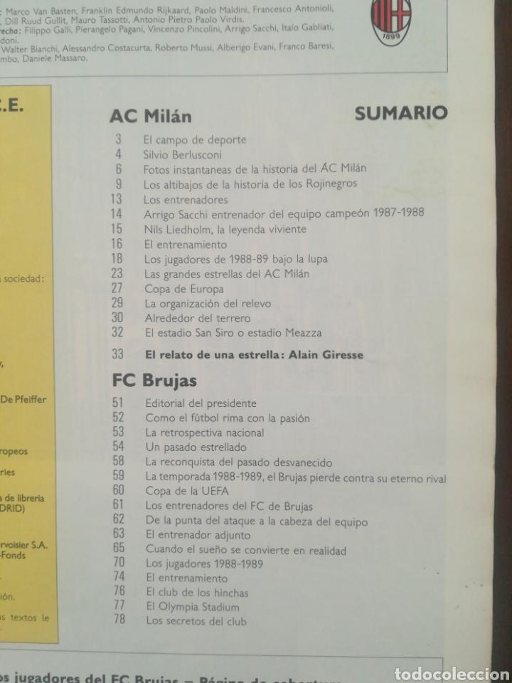 Coleccionismo deportivo: REVISTA LOS GRANDES CLUBES EUROPEOS N°2 1989 - Foto 6 - 63507488