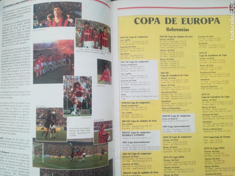 Coleccionismo deportivo: REVISTA LOS GRANDES CLUBES EUROPEOS N°2 1989 - Foto 7 - 63507488