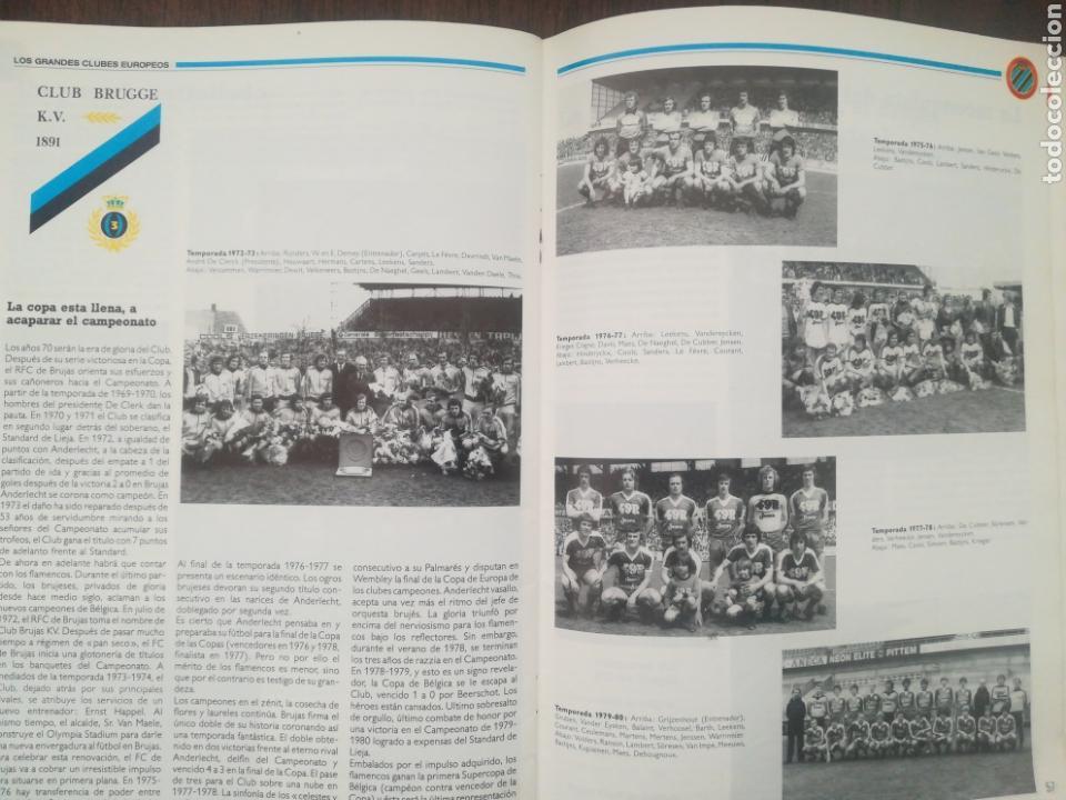 Coleccionismo deportivo: REVISTA LOS GRANDES CLUBES EUROPEOS N°2 1989 - Foto 9 - 63507488