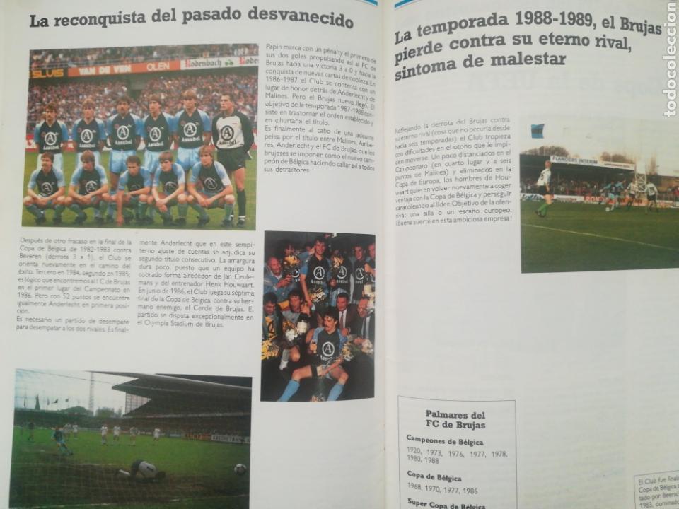 Coleccionismo deportivo: REVISTA LOS GRANDES CLUBES EUROPEOS N°2 1989 - Foto 10 - 63507488