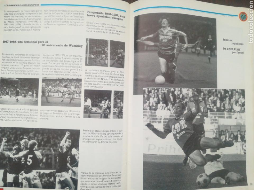 Coleccionismo deportivo: REVISTA LOS GRANDES CLUBES EUROPEOS N°2 1989 - Foto 11 - 63507488