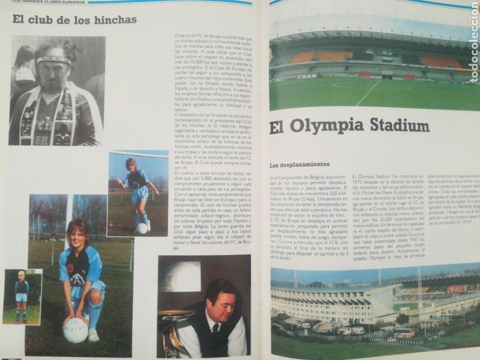 Coleccionismo deportivo: REVISTA LOS GRANDES CLUBES EUROPEOS N°2 1989 - Foto 12 - 63507488