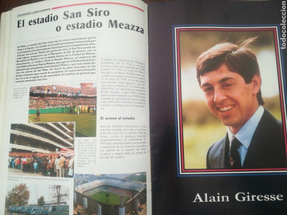 Coleccionismo deportivo: REVISTA LOS GRANDES CLUBES EUROPEOS N°2 1989 - Foto 13 - 63507488