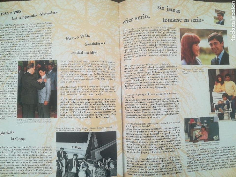 Coleccionismo deportivo: REVISTA LOS GRANDES CLUBES EUROPEOS N°2 1989 - Foto 14 - 63507488