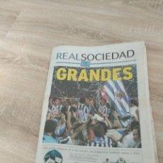 Coleccionismo deportivo: REAL SOCIEDAD GRANDES / JUNIO 2003 / 11 PAGINAS / FUTBOL SAN SEBASTIAN. Lote 140329454