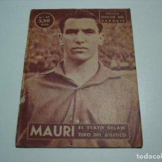 Coleccionismo deportivo: COLECCION IDOLOS DEL DEPORTE. Nº 49 MAURI (ATH.BILBAO) - AÑO 1959. Lote 140344982