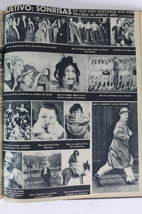 Coleccionismo deportivo: L-5219. REVISTA BARÇA ENCUADERNADA 20 TOMOS DESDE EL AÑO 1956 HASTA AÑO 1975. COMPLETOS. - Foto 12 - 140403982