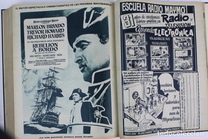 Coleccionismo deportivo: L-5219. REVISTA BARÇA ENCUADERNADA 20 TOMOS DESDE EL AÑO 1956 HASTA AÑO 1975. COMPLETOS. - Foto 25 - 140403982