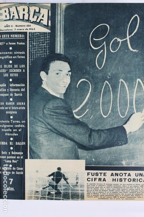 Coleccionismo deportivo: L-5219. REVISTA BARÇA ENCUADERNADA 20 TOMOS DESDE EL AÑO 1956 HASTA AÑO 1975. COMPLETOS. - Foto 29 - 140403982