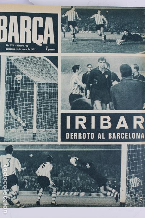 Coleccionismo deportivo: L-5219. REVISTA BARÇA ENCUADERNADA 20 TOMOS DESDE EL AÑO 1956 HASTA AÑO 1975. COMPLETOS. - Foto 37 - 140403982