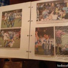 Coleccionismo deportivo: LOTE 3 ÁLBUMES RECORTES REAL CLUB DEPORTIVO DE LA CORUÑA ÉPOCA SUPERDEPOR AÑOS 90. Lote 140485110
