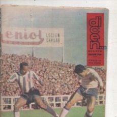 Coleccionismo deportivo: DICEN Nº 409 - PORTADA INDIO Y BENITEZ.DA. Lote 140486050