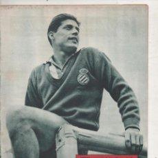 Coleccionismo deportivo: DICEN. 13 ABRIL 1957. Nº 235. PORTADA VICENTE. R.C.D.ESPAÑOL.DA. Lote 140486198