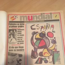 Coleccionismo deportivo: MUNDIAL 1982 FUTBOL - SUPLEMENTO EL PERIODICO DE CATALUNYA - WORLD CUP 1982 FOOTBALL. Lote 158854572