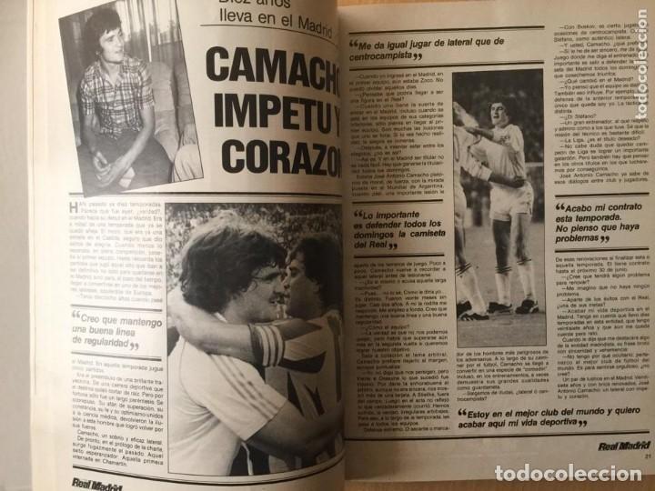 Coleccionismo deportivo: REVISTA REAL MADRID. AÑO 1983 COMPLETO Y CON AUTOGRAFOS DE LA PLANTILLA - Foto 2 - 140691766