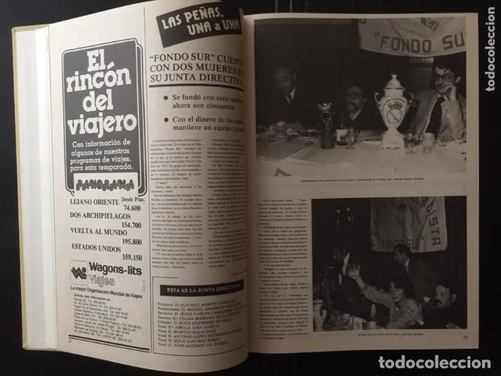 Coleccionismo deportivo: REVISTA REAL MADRID. AÑO 1981 COMPLETO Y CON AUTOGRAFOS DE LA PLANTILLA - Foto 4 - 140692942