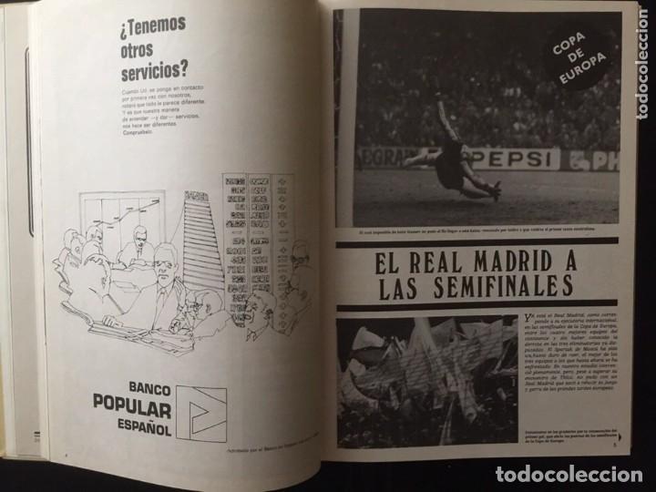 Coleccionismo deportivo: REVISTA REAL MADRID. AÑO 1981 COMPLETO Y CON AUTOGRAFOS DE LA PLANTILLA - Foto 5 - 140692942