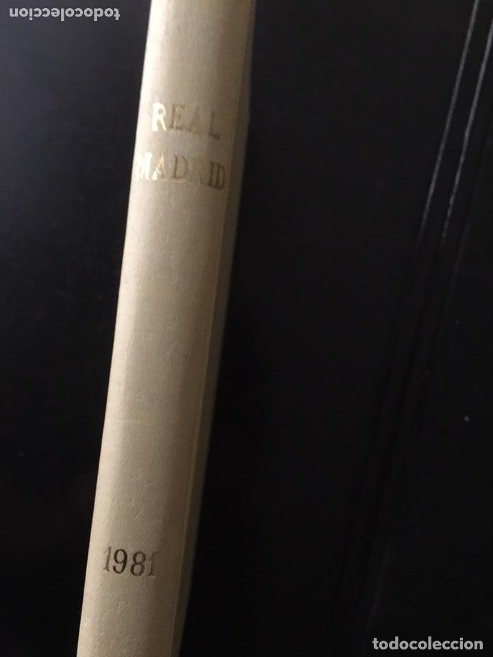 Coleccionismo deportivo: REVISTA REAL MADRID. AÑO 1981 COMPLETO Y CON AUTOGRAFOS DE LA PLANTILLA - Foto 6 - 140692942