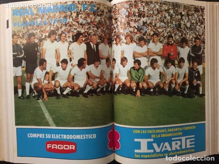 Coleccionismo deportivo: REVISTA REAL MADRID. AÑO 1977 COMPLETO Y CON AUTOGRAFOS DE LA PLANTILLA - Foto 3 - 140693638
