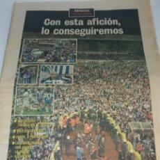 Coleccionismo deportivo: PERIODICO LA VOZ DE GALICIA ESPECIAL 15 MAYO 1994 BARCELONA CAMPEON DEPORTIVO LA CORUÑA SUBCAMPEON. Lote 140722606