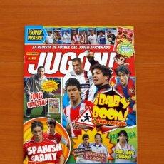 Coleccionismo deportivo: REVISTA DE FÚTBOL JUGÓN, Nº 23 - EDITORIAL PANINI REVISTAS - CON EL PÓSTER CENTRAL INCLUIDO. Lote 140749130