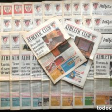 Coleccionismo deportivo: PERIÓDICO OFICIAL DEL ATHLETIC CLUB DEL N° 1 AL 50 (SEPT. 1996 - NOV. 2000). CENTENARIO, CHAMPIONS L. Lote 140906914
