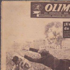 Coleccionismo deportivo: REVISTA DEPORTIVA OLIMPIA 7 OCTUBRE 1952. Lote 141170534