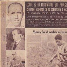 Coleccionismo deportivo: REVISTA DEPORTIVA OLIMPIA 22 MARZO 1955. Lote 141170710