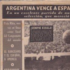 Coleccionismo deportivo: REVISTA DEPORTIVA OLIMPIA 7 JULIO 1953. Lote 141172174